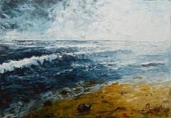 Picturi maritime navale Dor de mare
