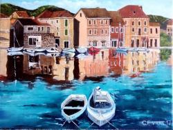 Picturi maritime navale Croatia