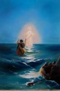 Picturi maritime navale Pe apa