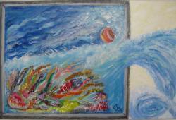Picturi maritime navale Culorile oceanului-out of box