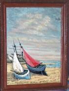Picturi maritime navale Barcile 2