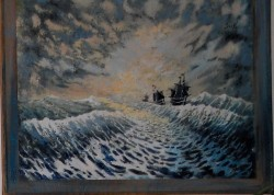 Picturi maritime navale Black pearl