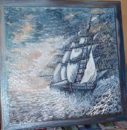 Picturi maritime navale Corabia piratilor