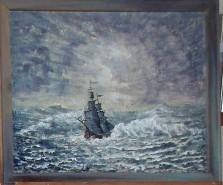 Picturi maritime navale Dansul linistit al marii