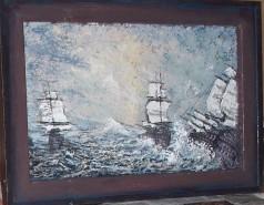Picturi maritime navale Farmecul vechilor corabii