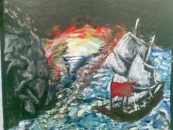 Picturi maritime navale 1