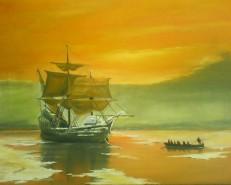 Picturi maritime navale Clasor si timbre 2