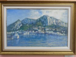 Picturi maritime navale Capri 3