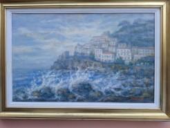 Picturi maritime navale Capri 5