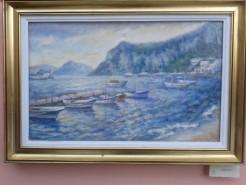 Picturi maritime navale Capri 6