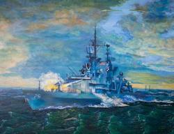 Picturi maritime navale USS Belknap CG-26