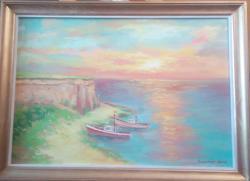 Picturi maritime navale faleza