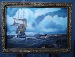 Picturi maritime navale Maritim 3