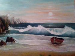 Picturi maritime navale Al treilea val
