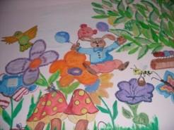 Picturi murale Copilaria