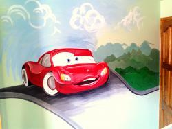 Picturi murale Cars
