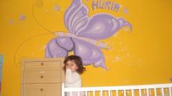 Picturi murale Fluture