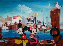 Picturi murale Mickey si prietenii