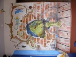 Picturi murale Trol