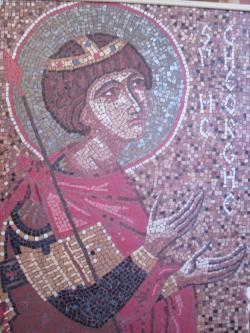 Picturi murale Sfantul Gheorghe