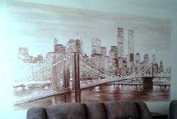 Picturi murale Brooklyn bridge