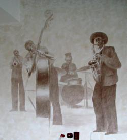 Picturi murale jazz