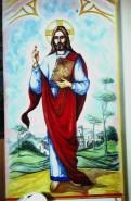 Picturi murale Isus pantocrator