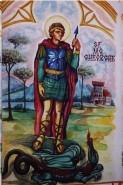 Picturi murale Sf. gheorghe