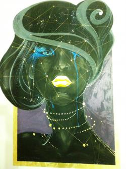 Picturi murale Blue eyes