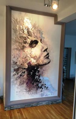 Picturi murale Reflexii sidefate