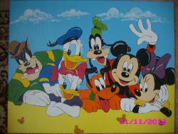 Picturi murale Mickey Mouse si prietenii sai
