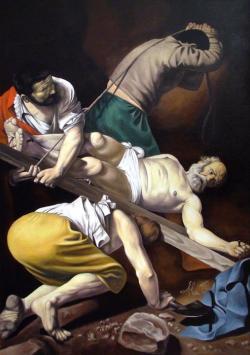 Picturi religioase crucificarea Sf. Petru