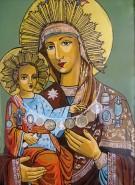 Picturi religioase Maica domnului de la schitul lacu