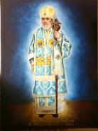 Picturi religioase Portret arhiepiscop