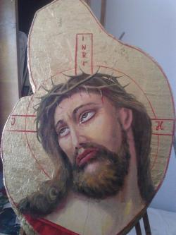 Picturi religioase Isus Indurerat