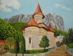 Picturi religioase Manastirea Ramet