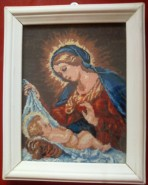Picturi religioase Madonna cu pruncul