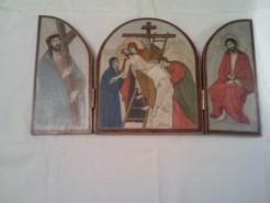 Picturi religioase Triptic