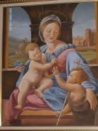 Picturi religioase Madona cu pruncii