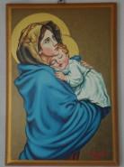 Picturi religioase Sf fecioara cu pruncul 207