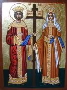 Picturi religioase Sf c-tin si elena
