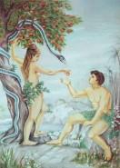 Picturi religioase Adam si eva