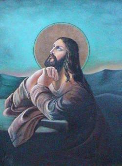 Picturi religioase Iisus pe muntele Maslinului