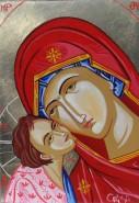 Picturi religioase Dulcea sarutare
