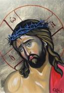 Picturi religioase Iisus cu coroana de spini