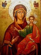 Picturi religioase Maica domnului cu pruncu iisus
