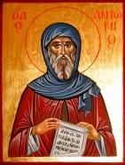 Picturi religioase Sf. antonie cel mare