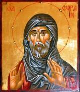 Picturi religioase Sf. efreim sirul