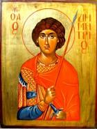 Picturi religioase Sf.mucenic dimitrie