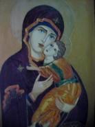 Picturi religioase Fecioara si pruncul